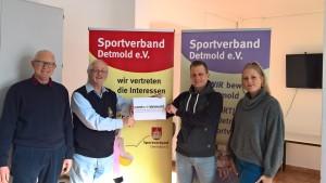 Sportverband - Bekleidungszuschuß contact!detmold